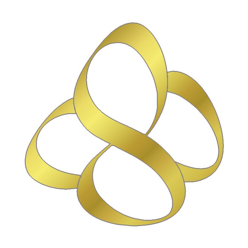 Sabrina Bechtel Logo Gold
